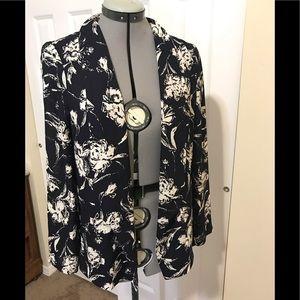 Lush Blue Floral Jacket